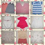 Petit Bateau летние платья для девочек 67см