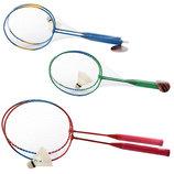 Ракетки для бадминтона/бадминтон железный Profi 0752, 3 цвета 2 ракетки волан