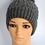 Зимняя теплая шапка