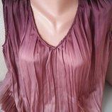 Блуза разлетайка омбре оверсайз Zara