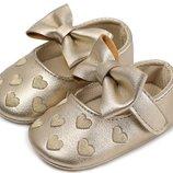 Пинетки балетки туфли мягкая подошва дитяче взуття пінетки туфлі