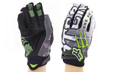 Мотоперчатки текстильные с закрытыми пальцами Monster 3905 текстиль, L-XL