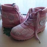Ботинки,черевички Golddigga осень-весна для девочки, состояние новых