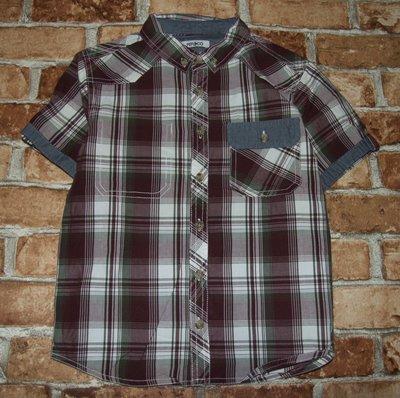 рубашка тениска коттон сток 9 - 10 лет мальчику