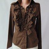 коричневая рубашка Phard