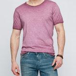 Мужская футболка LC Waikiki насыщенно светло-темно фиолетового цвета