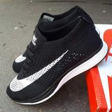 Кроссовки мужские Nike Flyknit Racer black