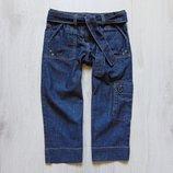 Удлиненные джинсовые шорты для девочки. Next. Размер 9 лет. Состояние идеальное