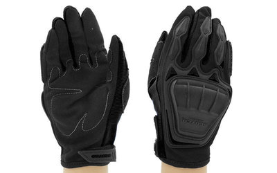 Мотоперчатки текстильные с закрытыми пальцами и протектором Scoyco MС08-BK 2 цвета, размер M-XL