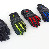 Мотоперчатки текстильные с закрытыми пальцами Scoyco MC29-B 4 цвета, размер M-XL
