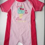 Купальный костюм красивый в отличном состоянии на ребенка от6-12мес