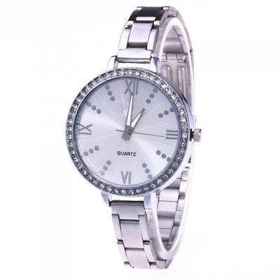 1fb5d8b6608b Металлические часы geneva украшен стразами серебро: 150 грн ...