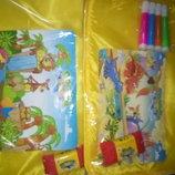 Аква коврик раскраска коврик для рисования водой chh37/9-1