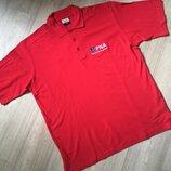Яркая мужская футболка-поло от Printer размер M, L евро