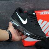Кроссовки Nike Flyknit Max Black