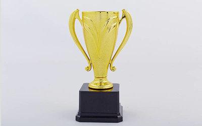 Кубок спортивный с ручками C-2853D металл пластик, высота 20см