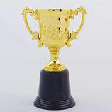 Кубок спортивный с ручками C-050A пластик, высота 21см