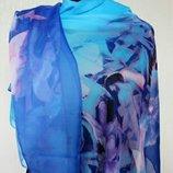 Турция шелковый летний палантин шарф