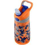 Поильник питьевая бутылка с мягким силиконовым носиком Contigo Autospout
