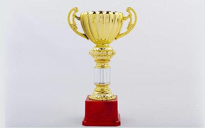 Кубок спортивный с ручками C-057A пластик, высота 26,5см