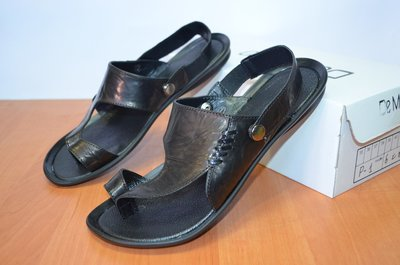 кожаные сандали трансформер