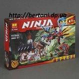 Конструктор Bela Ninja 10584 Кузница Дракона, 1173 дет