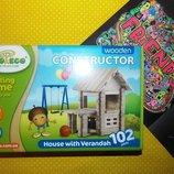 Развивающая игра конструктор Будинок з верандою