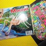 Игрушка из дерева Москит Сборная деревянная модель
