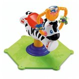 Fisher-Price Прыгунки зебра Go Baby Go Bounce & Spin Zebra