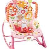 Fisher-Price кресло качалка шезлонг зайчик Infant To Toddler Rocker Bunny