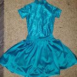 Бейсик на 8-11 лет платье для танцев бейзик танцевальное платье