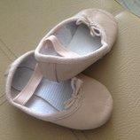 по стопе 12 см, качественные кожаные тапочки балетки