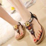 босоножки женские Хит на каблуках на платформе сандалии шлепки