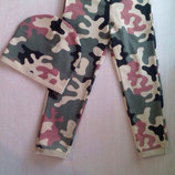 Спортивные штанишки для мальчиков и девочек трикотажные