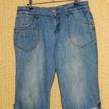 Мужские шорты бриджи капри джинсовые р. 48-50 Denim