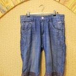 Мужские шорты бриджи капри джинсовые р. 48-50 Govibos
