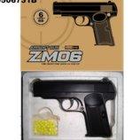 Детский железный пистолет ZM 06 TT