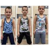 Детская борцовка с бриджами от 2х до 9 ти лет