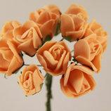 Роза из латекса на ножке 12 веточек