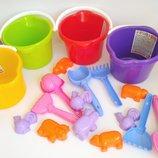 Песочный набор 5 предметов, пасочки, Разные игрушки для песочницы