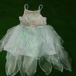 платье снежинки,феи на 7-8 лет