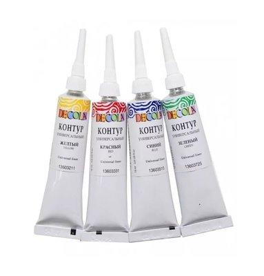 Контур универсальный Decola акриловый акрил фарба краска художественная