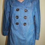 Хl разм. Pull & Bear Стильная куртка пиджак, рукав три четверти