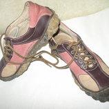 Крутые кроссовки мокасины полностью кожа temar р 35