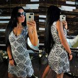 Платье Штапель фото 4 с м л