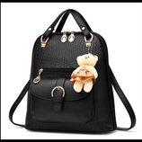 Элитные рюкзаки в узор Candy Bear
