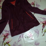 куртка спортивная утепленная флиссом.очень теплая.большой рр.