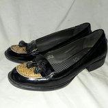Балетки лоуферы кожаные footglove 39размер