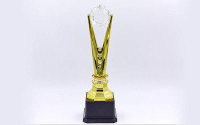Награда спортивная приз спортивный C-827B пластик, высота 28см