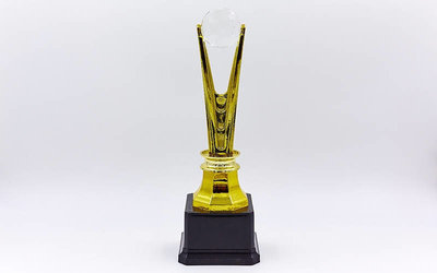 Награда спортивная приз спортивный C-827С пластик, высота 25,5см